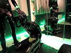 Echo Piss Pup, Rubber pup swallowing piss