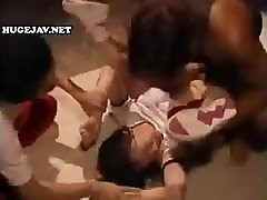 Asian porn nio anal gets manhandled and abused by these horny guys