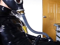 full rubber with gasmask
