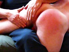Daddy spanks a nice ass