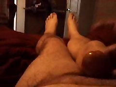 Gay Chubby Jerk-Off on a Lazy Saturday Morning