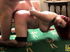 Bigbooty spex redhead spanked and pretty babe sex