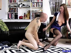 Classy british massage next to him pussylicked before sex