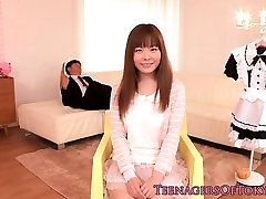 Japanese teen maid cash or pain on couch