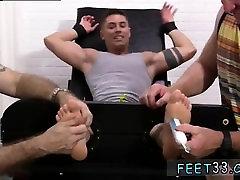 Gay male foot slaves snapchat Sebastian Tied Up & Tickled