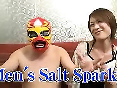Chubby dude in a lucha libre mask is seduced by a boy and boy sxe video Asian