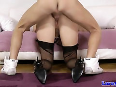 British milf fuck by mens after cockriding