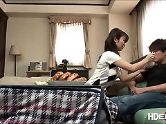 Lovely asian Ayumi gets ask out sex