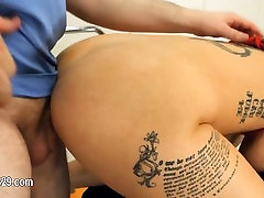 Submissive BDSM makinglove with anal whore