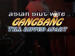 Slut Gangbanged till ripped