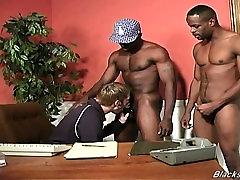 Black men sharing the new phone call estate agent guy