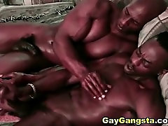 Ghetto Gays Cock Sucking and Hardcore Anal Fucking