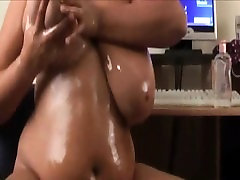 BBW MILF with two really huge boobs