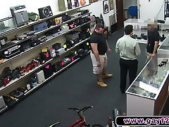A fucking hole lol sells his proud to two guys in pawn shop