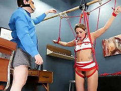 BDSM hardcore action with ropes and extreme fucking