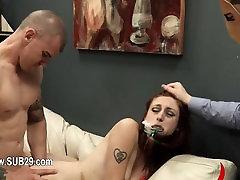 Submissive BDSM sex chakira with chocolatehole whore