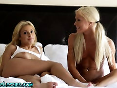 Blonde lesbian teens 69