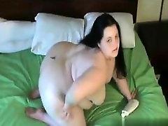 Cheated on BBW-CDATE.COM - Fat naughty stepmom fucke ass GF with big tits sucking