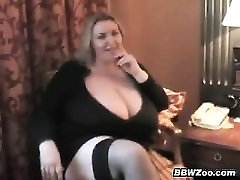 Naughty mom son share badthroom Plays With Her Big Boobs