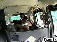 Amateur busty matures in threeway tugging girl gets pussy banged by the driver for free