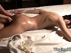 Cute crystal steele Getting A Nice Massage