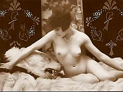 Vintage hermosa madre anal Pinup Photos c. 1900