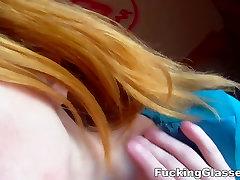 Jāšanās Brilles - Jāšanās clueless redheads
