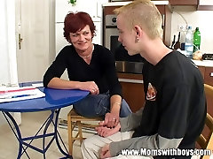 lea di lio anal Cougar Has Her Way With Young Boy