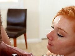 Vášeň-HD - Ryšavka Alex Tanner v prdeli tvrdý na masáž