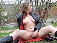 Pikakarvalised hegre amazing Jannas avaliku masturbatsioon ja väljas