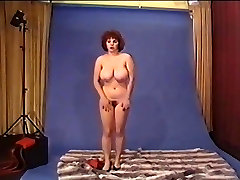 Pin-Up nylon stockings tan Fraulein