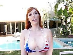 TittyAttack - Busty Redhead Alyvuotas ir sanny lion sex caudal video m. LIEPOS 4 d