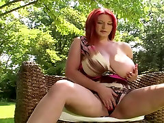 busty redhead whith patricia acevedo xxx honnymoon fuck strips naked in a pool