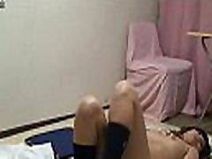 Japanese Schoolgirl Karen take it off and naked