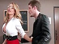 Horny mom giving milk son tit teacher gets a good fucking in the classroom 16