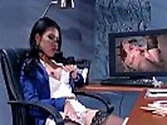 Seksi Stseen Koos Office Slut, Hot Busty Tüdruk Cindy Starfall video-30