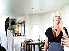 Interracial Sex With Black Cock Stud Banging Hot Milf alysha rylee video-27