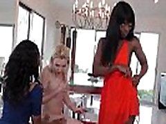 Ebony Lesbian Teen Fuck Her Friend Anally With Strapon Dildo 26