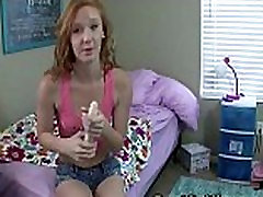 dped pounded Redheaded Teen on Dildo Tutorials
