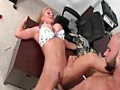 Secretary with big boobs fucked at work 26