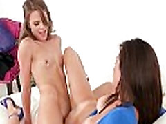 Lovely Amateur Lez Girls Ally Tate & Alexis Deen Kissing And Licking Their Hot Bodies clip-05