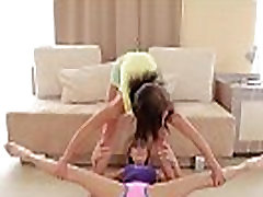flexible girlfriends stretching