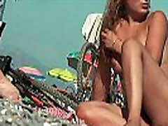 A very cute girl in a Spanish xnxxxdotcom dotcom beach