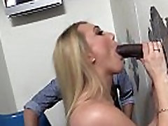 Poor stepmom sex with daughter Watching his big ass wife AJ Applegate getting blackedked
