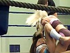 Glamour babes love wrestling