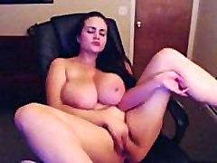 Horny Big Boob Tüdruk Masturbating Cam - Rohkem FriskyCams.net