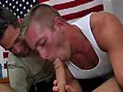 Gay black daddies gay porn gang bang The Troops are wild!