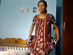Indian wife get nude
