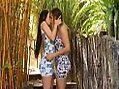 Lesbians love playing in dissolute way