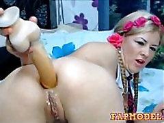 Big Dildo in Her Ass - Farting, Free Big Ass HD Porn fapmodel.com